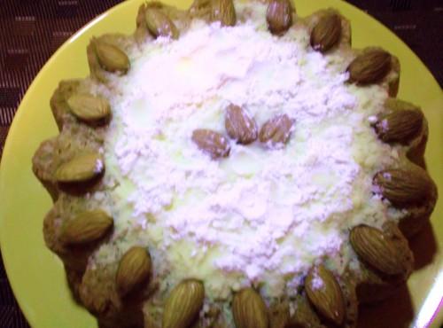 dolce di  pere e mandorle con il bimby,dolce con pere e mandolre con il bimby,ricette bmby,ricette cob il bimb,mandorle pere,dolce,torta