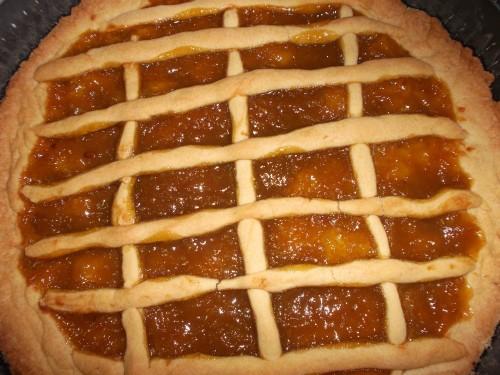 ricette bimby,crostata con marmellata all'arancia con il bimby,crostata,marmellata all'arancia con il bimby,dolce,dessert,pasta frolla con il bimby,pasta frollaforno,arancia