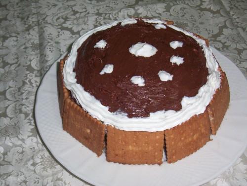 zuccotto,semifreddo,dolci al cucchiaio,biscotti,panna,nutella