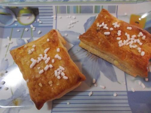 sfogliatine con marmellata,ricette bimby,pasta sfoglia,marmellata all'arancia,arancia,dolci,merenda,prima colazione,granella di zucchero, sfogliatine