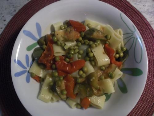 ricette bimby - calamarata  alle verdure