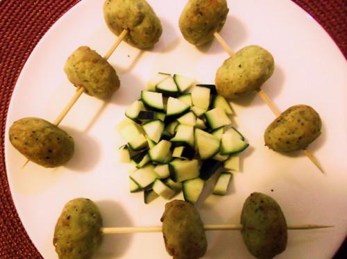 ricette bimby - polpette di pollo con zucchine e ricotta